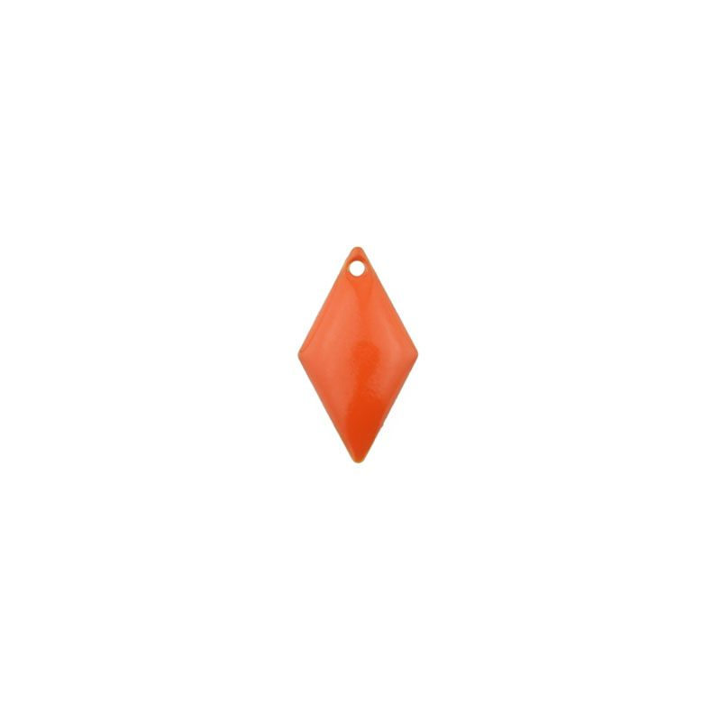 40 pcs sequins losanges maill s 15x8mm orange la perlerie 22. Black Bedroom Furniture Sets. Home Design Ideas
