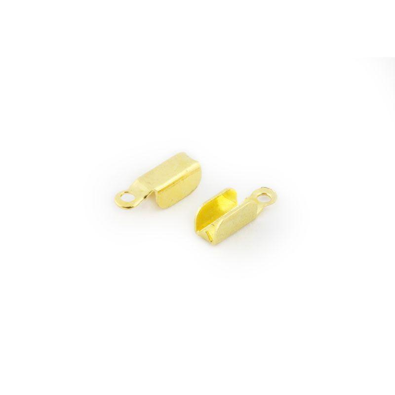4 mm Embouts pince-lacets 20 pcs Dor/é